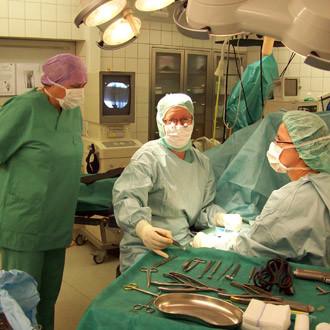 28. August 2013: Hospitation in der Sophienklinik bei Dr. Frank Siebert