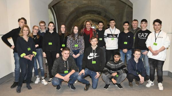 Schulklasse IGS Vahrenheide Sahlk 12 02 2020