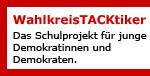 Banner für Link zum Demokratieprojekt WahlkreisTacktiker