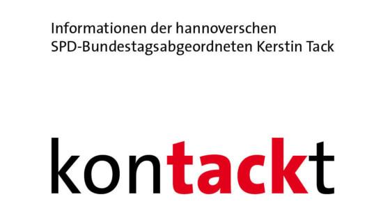 Symbolbild: Informationen der hannoverschen SPD-Bundestagsabgeordneten Kerstin Tack - Kontackt