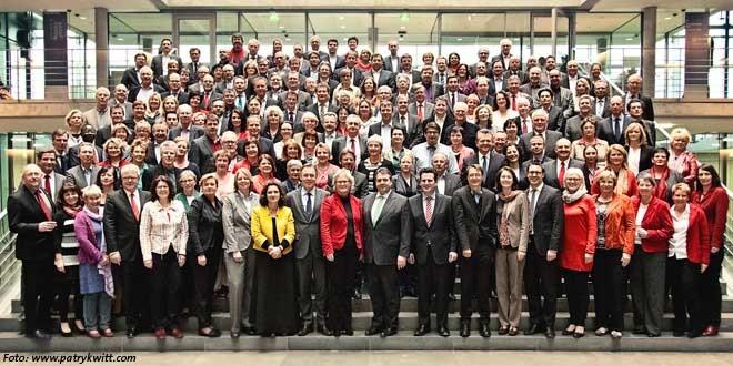 Gruppenbild der SPD-Bundestagsfraktion / Foto: www.patrykwitt.com