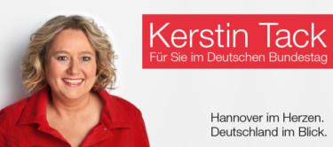 Kerstin Tack - Für Sie im Deutschen Bundestag - Hannover im Herzen. Deutschland im Blick.