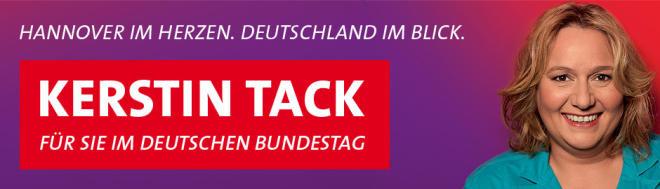 Kerstin Tack | Für Sie im Deutschen Bundestag