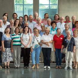Gruppenfoto mit Kerstin Tack