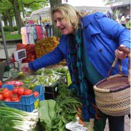 31.05.2013 - Abschluss der Marktbesuche von Kerstin Tack - Groß-Buchholz