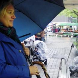 31.05.2013 - Abschluss der Marktbesuche von Kerstin Tack - Stöcken