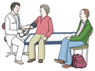 Besuch beim Arzt
