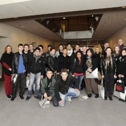 Die Gruppe von Pro Beruf, gemeinsam mit Kerstin Tack, im Deutschen Bundestag