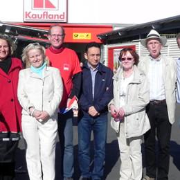 Kerstin Tack mit den GenossInnen des SPD-Ortsvereins Hainholz-Vinnhorst