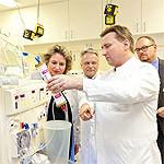 Kerstin Tack hospitiert in der Klinik für Nieren- und Hochdruckerkrankungen an der MHH