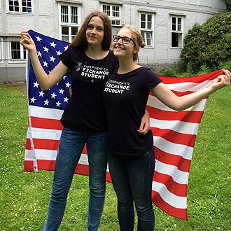 Emilia Keric und Antonia Lang freuen sich auf die Zeit in den USA