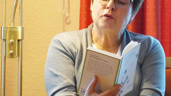 Kerstin Tack im Gespräch auf dem Jahnplatz